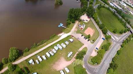 wohnmobilstellplätze deutschland karte D 36179 Bebra   Wohnmobilstellplatz Breitenbacher See ~ Hessen