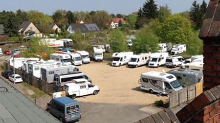 D 12555 Berlin Köpenick Wohnmobilstellplatz Stellingdamm Berlin